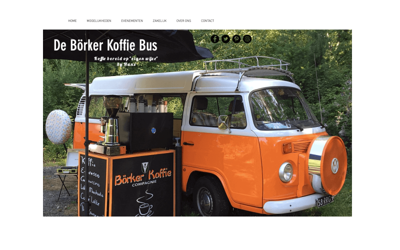Project: Foodtruck Börker Koffie Bus – Horeca